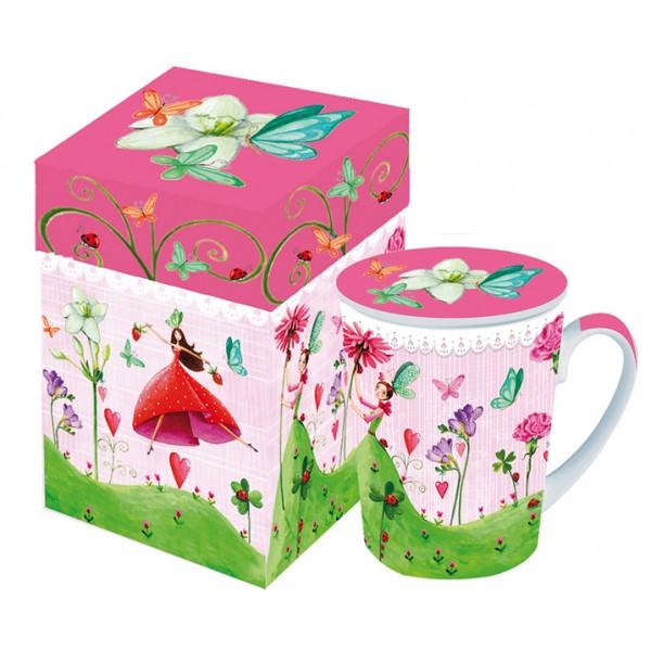 Кружка с крышкой в подарочной коробке Lucky Fairy