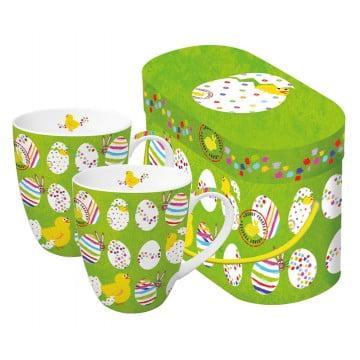 Набор кружек в подарочной упаковке Easter Buddies