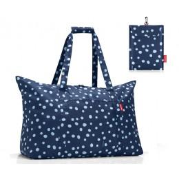 Сумка складная универсальная Mini Maxi Travelbag Spots Navy