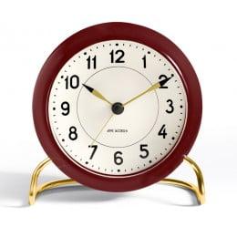 Настольные часы AJ Station бордовый