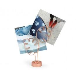 Держатель для фотографий Leaflet медь