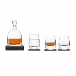 Набор для виски с деревянными подставками LSA Islay Whisky