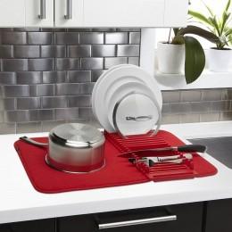 Коврик для сушки посуды UDRY mini красный