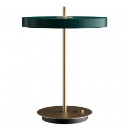 Светильник настольный Asteria 31х41,5 см зеленый