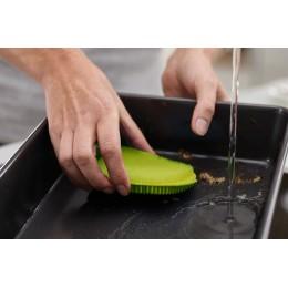 Набор из 2 щеток для мытья посуды CleanTech белый/зеленый