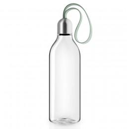 Бутылка плоская 500 мл светло-зеленая