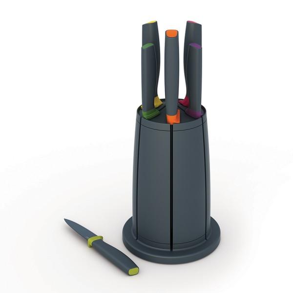 Набор ножей Elevate™ в подставке Carousel