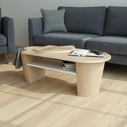 Столик кофейный Woodrow натуральное дерево