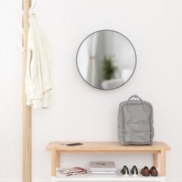 Зеркало настенное Cirko D50 см чёрное