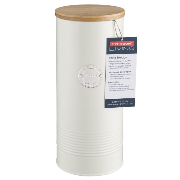 Емкость для хранения пасты Living кремовая 2,5 л