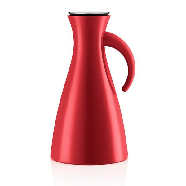 Высокий термокувшин Vacuum 1 л красный