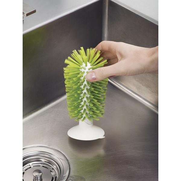 Щетка для стаканов на присоске Brush UP зеленая