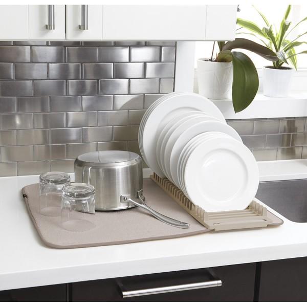 Коврик для сушки посуды UDRY латте