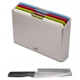 Набор разделочных досок Folio Regular серебристый с ножом