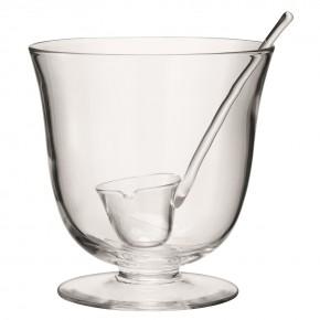 Чаша для пунша с половником LSA International Serve, D25 см