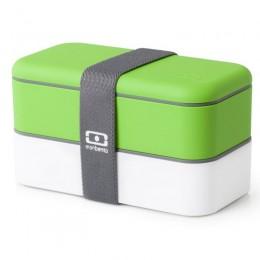 Ланч-бокс MB Original зеленый/белый