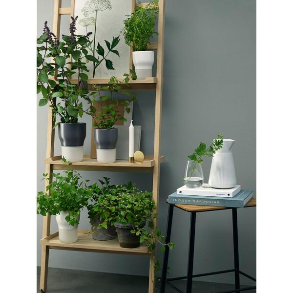 Горшок для растений с функцией самополива D9 см серый