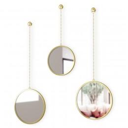 Зеркала декоративные Dima круглые латунь