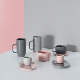 Чашка для латте Cafe Concept 550 мл темно-серая