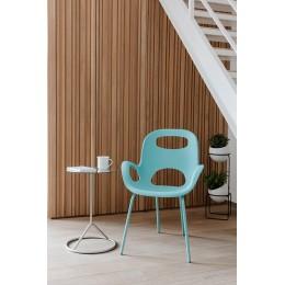 Стул дизайнерский OH Chair морская волна