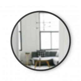 Зеркало настенное Hub D45 черное