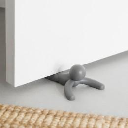 Стоппер дверной Buddy серый