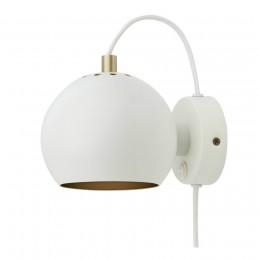 Лампа настенная Ball Anniversary белая