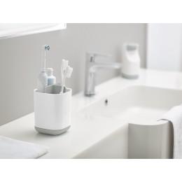 Органайзер для зубных щеток EasyStore™ белый-серый