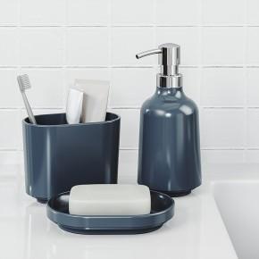 Диспенсер для жидкого мыла Step синий