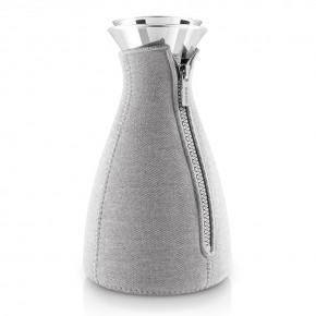 Кофейник Cafe Solo в неопреновом текстурном чехле 1 л светло-серый