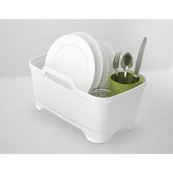 Набор из 3 предметов для мойки и сушки посуды серый