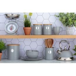 Емкость кухонная Living серая 15х12,5 см