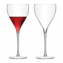 Набор из 2 бокалов для красного вина Savoy 450 мл прозрачный