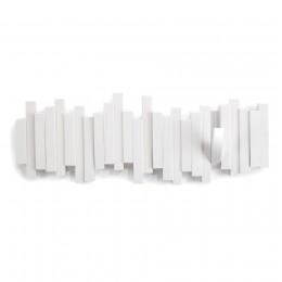 Настенная вешалка Sticks белый