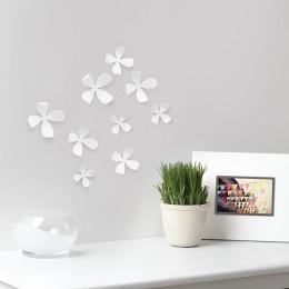 Декор для стен Wallflower 10 шт белый