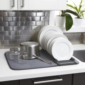 Коврик для сушки посуды UDRY темно-серый