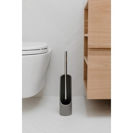 Ёршик туалетный Touch серый