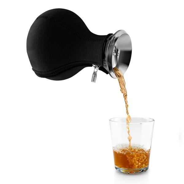 Чайник заварочный Tea Maker в неопреновом чехле 1 л черный