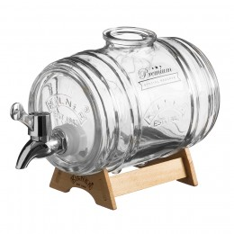 Диспенсер для напитков Barrel на подставке 1 л