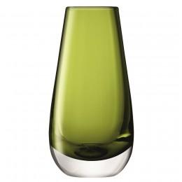 Ваза в форме бутона Flower Colour 14 см зелёная