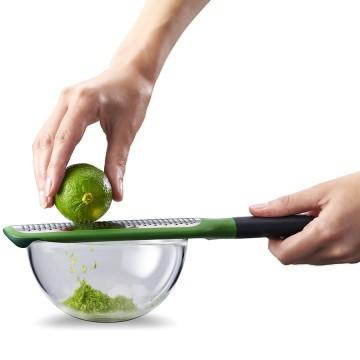 Терка мелкая GripGrater зеленая