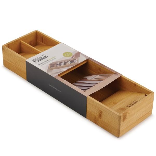 Органайзер для столовых приборов DrawerStore Bamboo деревянный