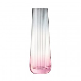 Ваза LSA International Dusk 20 см розовая-серая