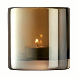 Подсвечник Signature Epoque 8,5 см янтарь
