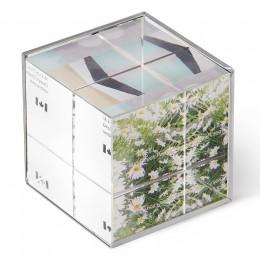 Фоторамка-куб Ice Frame никель