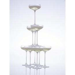 Набор из 4 бокалов для шампанского LSA International Wine 215 мл