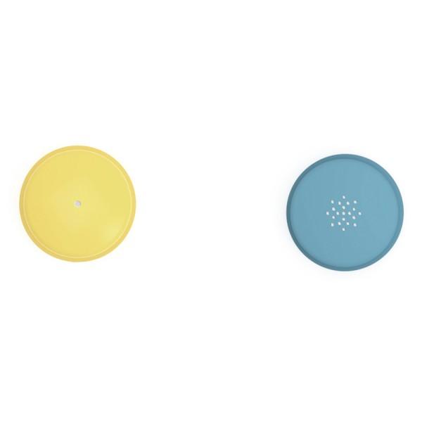 Кисточка силиконовая Glaze с емкостью и насадками