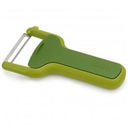 Овощечистка с горизонтальным гладким лезвием SafeStore зеленая
