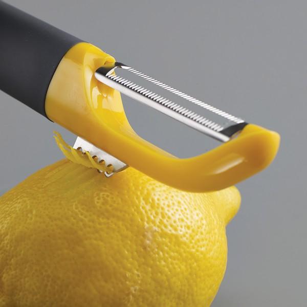 Овощечистка с вертикальным зубчатым лезвием Serrated
