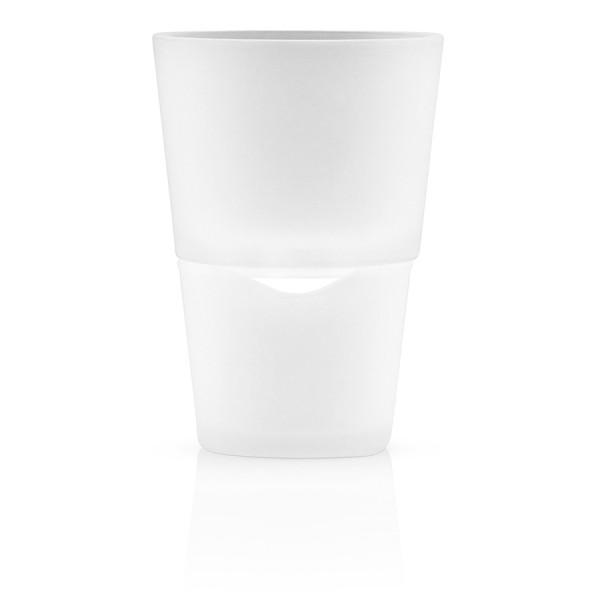 Горшок для растений с функцией самополива D11 см матовое стекло